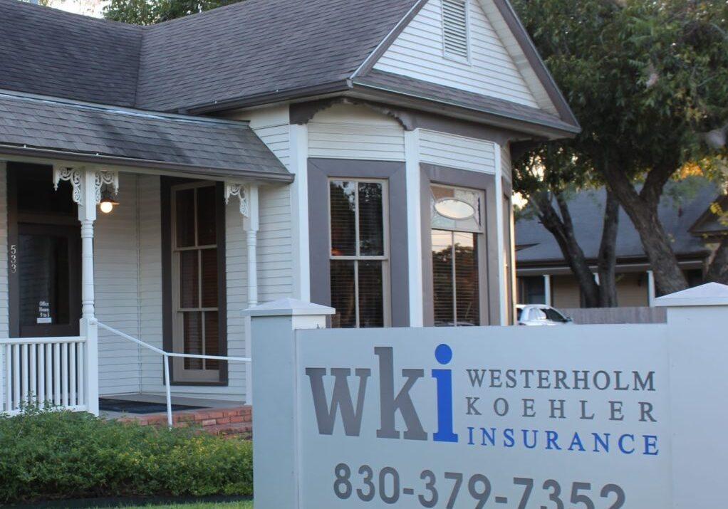 WKI Texas Westerholm Koehler Insurance, Seguin, Texas